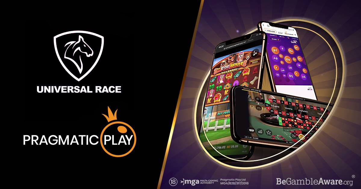 PRAGMATIC PLAY TAKES FULL OFFERING LIVE WITH UNIVERSAL RACE