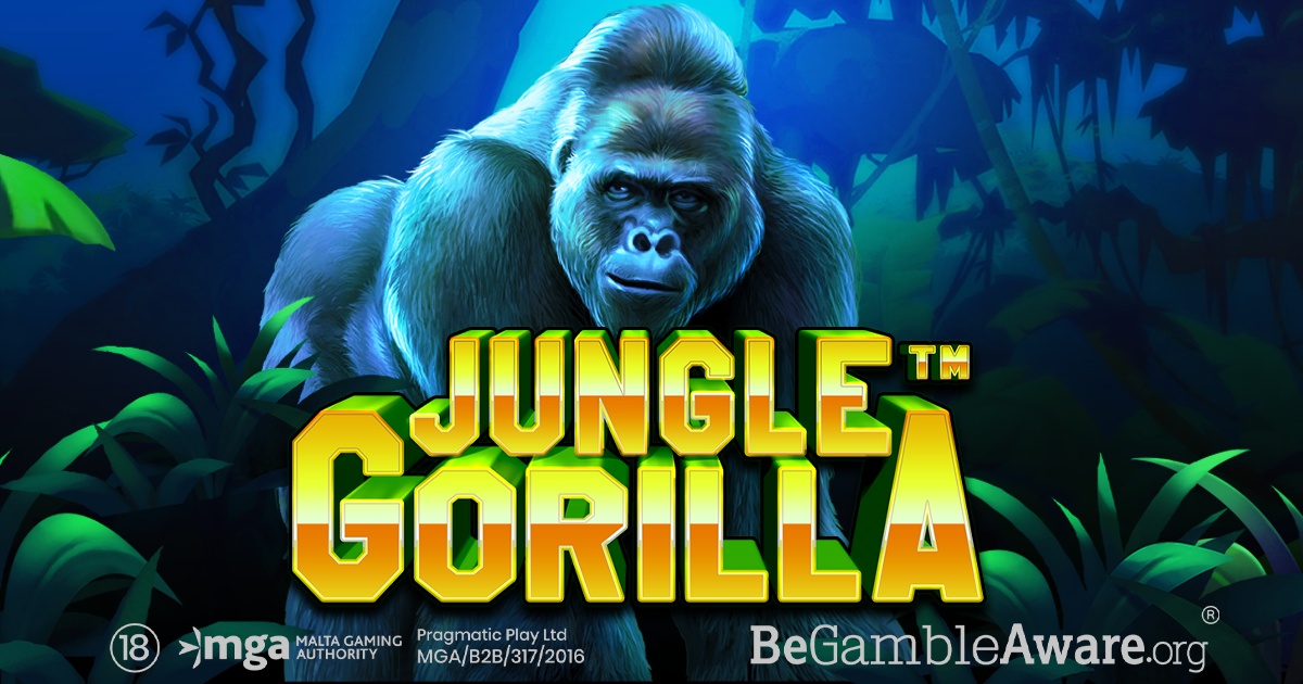 PRAGMATIC PLAY GÅR AMOK MED DET MULTIPLIKATOR-RIGE SLOT JUNGLE GORILLA