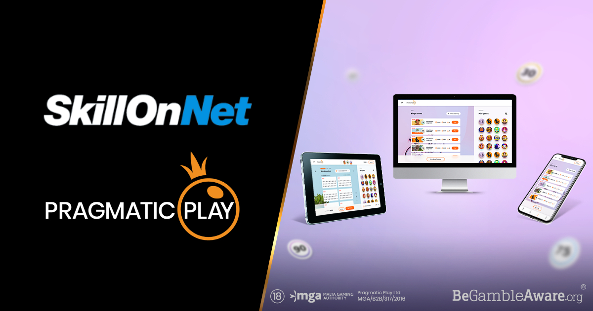 PRAGMATIC PLAY TAKES ITS BINGO VERTICAL LIVE WITH SKILLONNET'S PLAYOJO